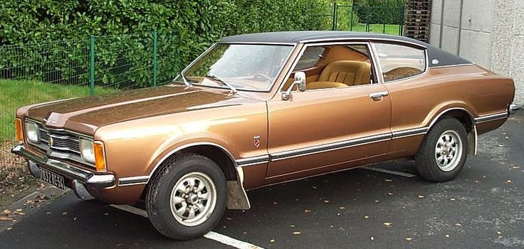 1971 Ford Taunus GXL. The Bastard Love-Child of a Capri, a Maverick and a Pinto, which later evolved into the universal joke referred to as the 1975 Ford Mustang.