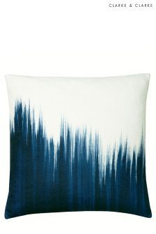 Clarke And Clarke Feather Filled Paint Drag Cushion (168033) | £40