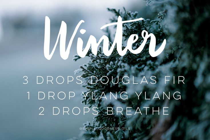 dōTERRA essential oil diffuser blend. Welcome winter with this fresh crisp diffuser blend featuring Douglas Fir, Breathe and Ylang Ylang. Such an amazing combination of essential Oils! Smells like a fresh Winter snow!
