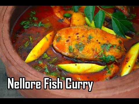 Nellore Fish Curry - How to make Andhra Mango fish Curry - Foodvedam