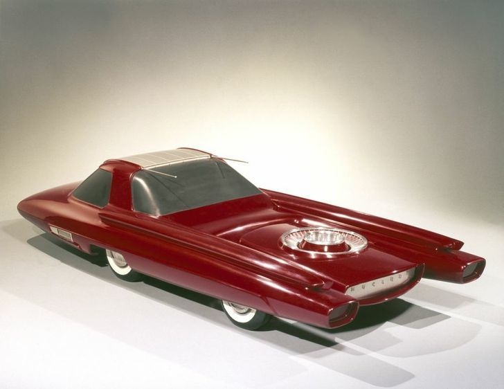 Ford Nucleon: atomic car concept