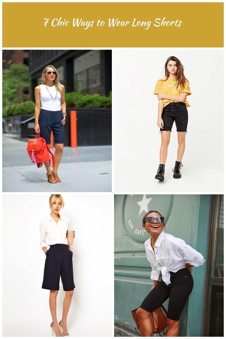 So tragen Sie lange Shorts lange Shorts 7 Chic Ways to Wear Long Shorts   – modest-shorts
