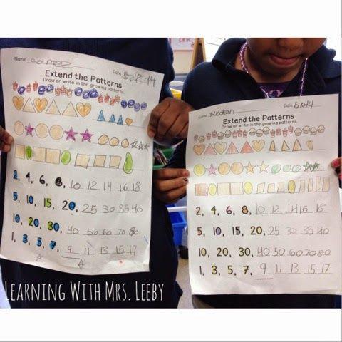 Pre School Worksheets : extending patterns worksheets 4th grade ...