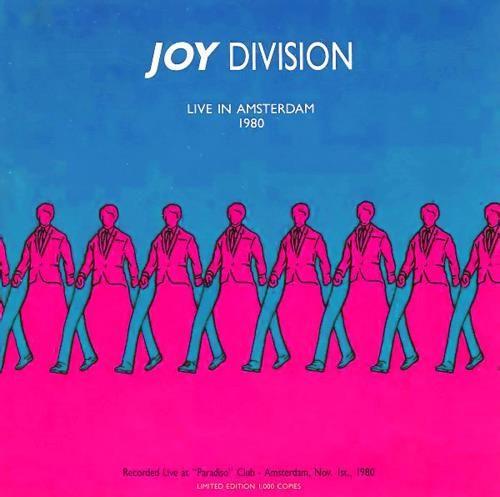 Joy Division Amsterdam concert cover
