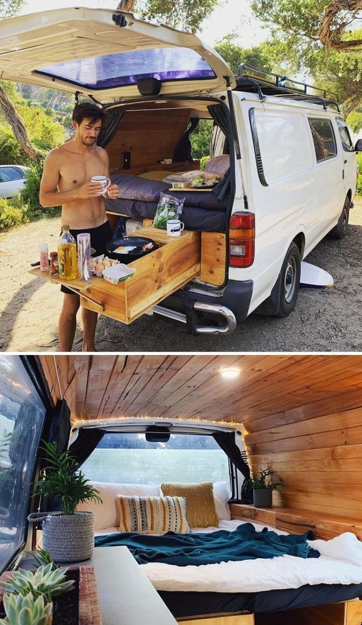 25+ Best school bus and van conversions in tiny house  – Road campers