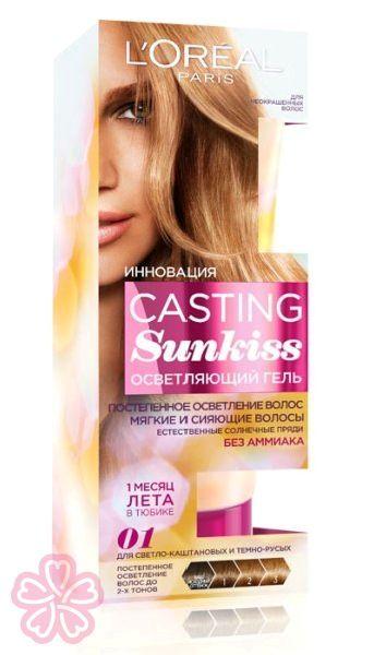 L'Oreal Гель для волос Casting Sunkiss — купить с доставкой по Киеву и Украине