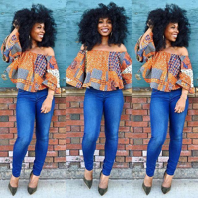 "Gear up for summer in ""BELLE"" tops by MIDGETgiraffe. ~African fashion, Ankara, kitenge, African women dresses, African prints, African men's fashion, Nigerian style, Ghanaian fashion ~DKK"
