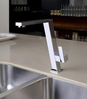 Incline kitchen mier tap by Gessi
