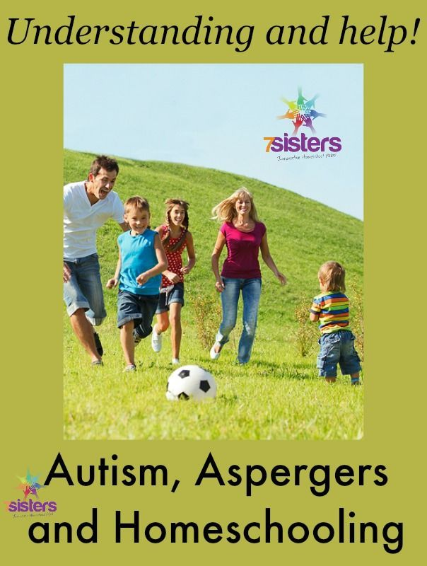 Autism, Asperger's and Homeschooling http://7SistersHomeschool.com