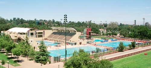 Avery aquatic center! I love swimming there!