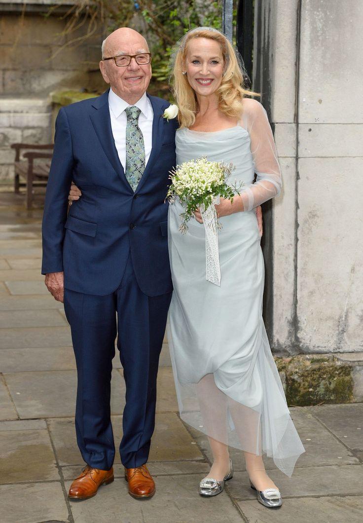 Jerry Hall and Rupert Murdoch's wedding  - HarpersBAZAAR.co.uk