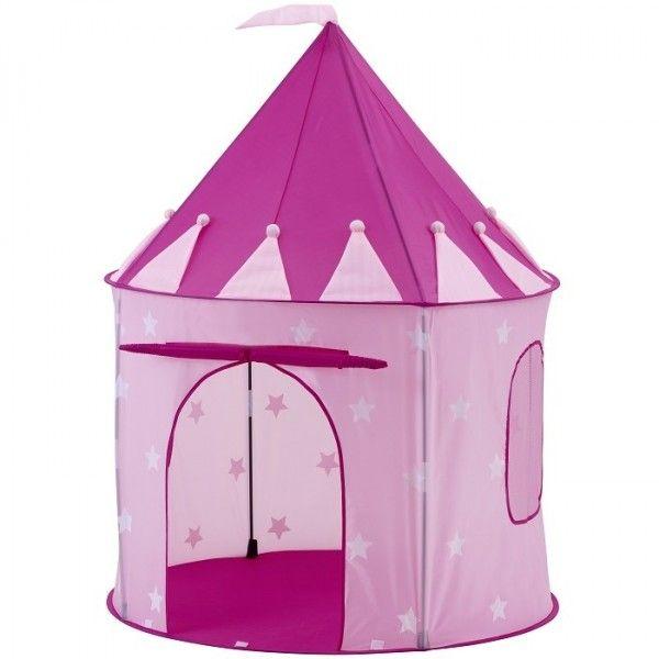 Bellissima tenda da gioco Stella rosa per promuovere l'immaginazione e creatività della tua bambina!