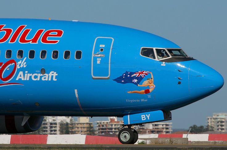 VIRGIN BLUE Boeing 737-7FE (VH-VBY)