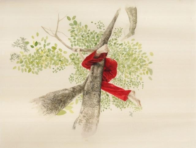'Dangling' by Monica Rohan, exhibiting at Spiro Grace Art Rooms (SGAR) 14 September — 13 October 2012