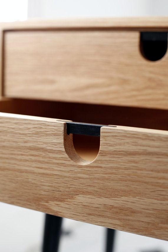 Nightstand Drawer Handles - WoodWorking Projects & Plans