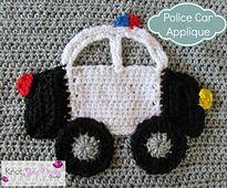 Ravelry: Police Car Applique pattern by Teri Heathcote