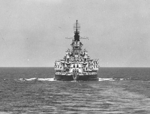 USS Nevada BB-36 underway 1944 *BFD*