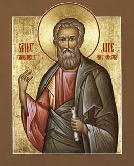 picture of the sainta and apostles   Apostle Jude - OrthodoxWiki