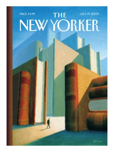 The New Yorker Cover - October 19, 2009 Poster Print  by Eric Drooker at the Condé Nast Collection