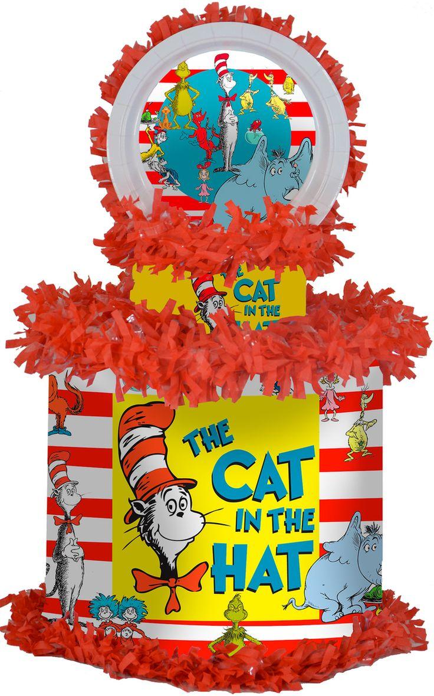 Cat in the Hat Personalized Pinata - WorldOfPinatas.com