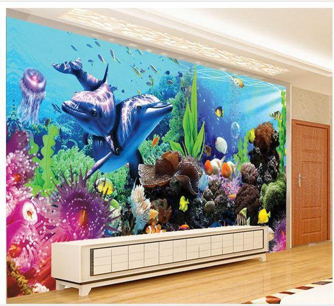 Ms de 25 ideas increbles sobre Pared del acuario en Pinterest