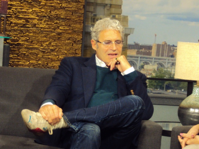 3/30/12 - What a feeling!  Actor #MichaelNouri of #Flashdance and #NCIS fame stops by Good Company for a chat.