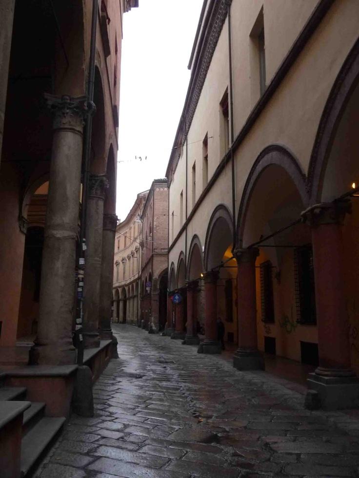 via castiglione, Bologna, Italy