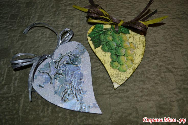 Декупаж . сердечки , сердце , для интерьера , интерьер  , набор , подарок , заказ