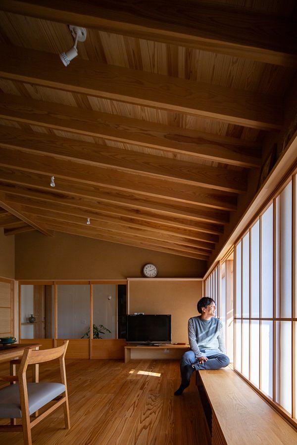 藤井寺の家 木の家 土壁 素材を使った新築 リフォーム フロー建築