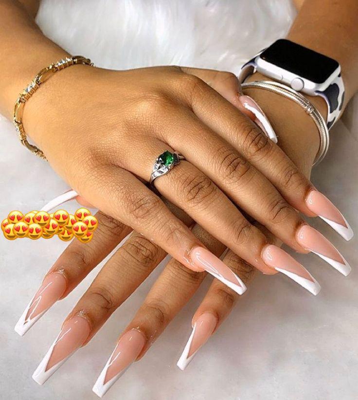 Pin by Bill Montague on My hot long nails   Natural nails