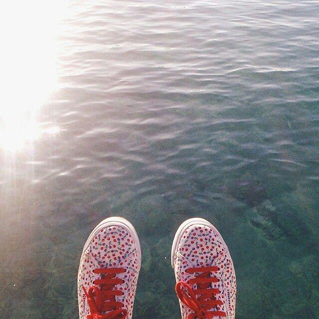 #superga #supergagreece #contet #win #supergagreececontest #cherries #stylelove #sea