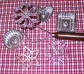 Specialty Scandinavian Baking Tools: Rosette / Timbale Iron