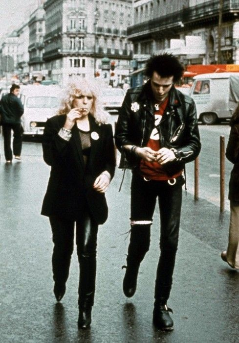 Sid and Nancy- the king & queen of punk