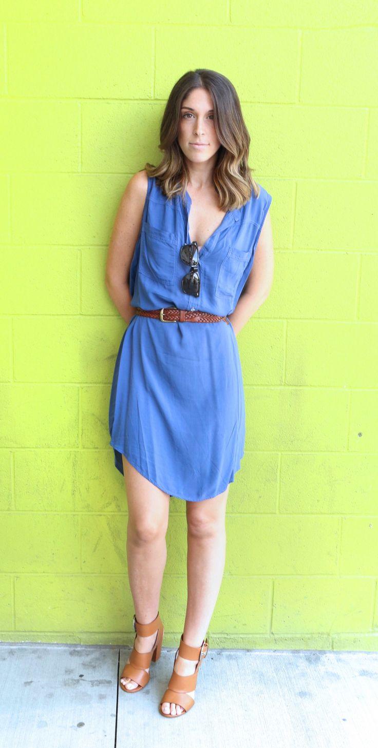 Summer Shirt Dress byVelvetby Graham & Spencer