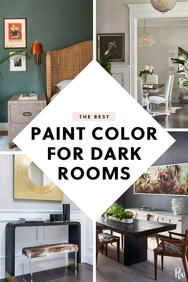 The Best Paint Colors for Dark Rooms, According to Designers | Home ...