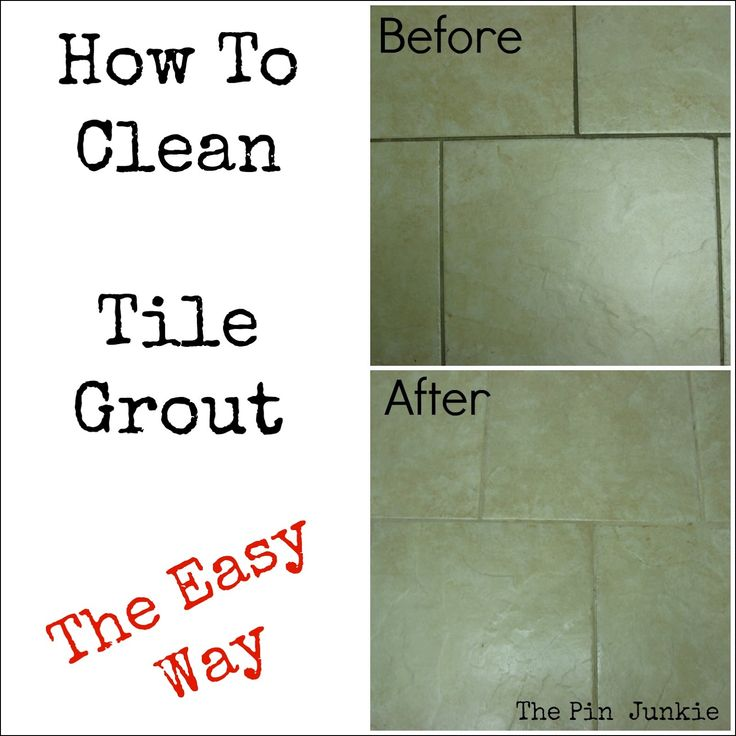 How To Clean Bathroom Tile: Best 25+ Clean Tile Grout Ideas On Pinterest