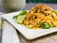 Chorizo, Basil and Lemon Fettuccine