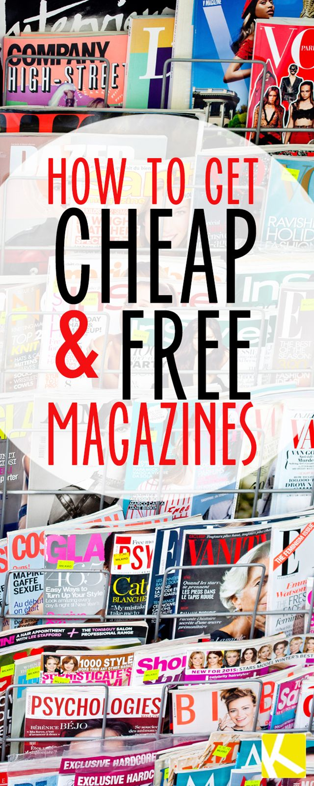 The 10 Best Ways to Get Free (and Really Cheap) Magazines