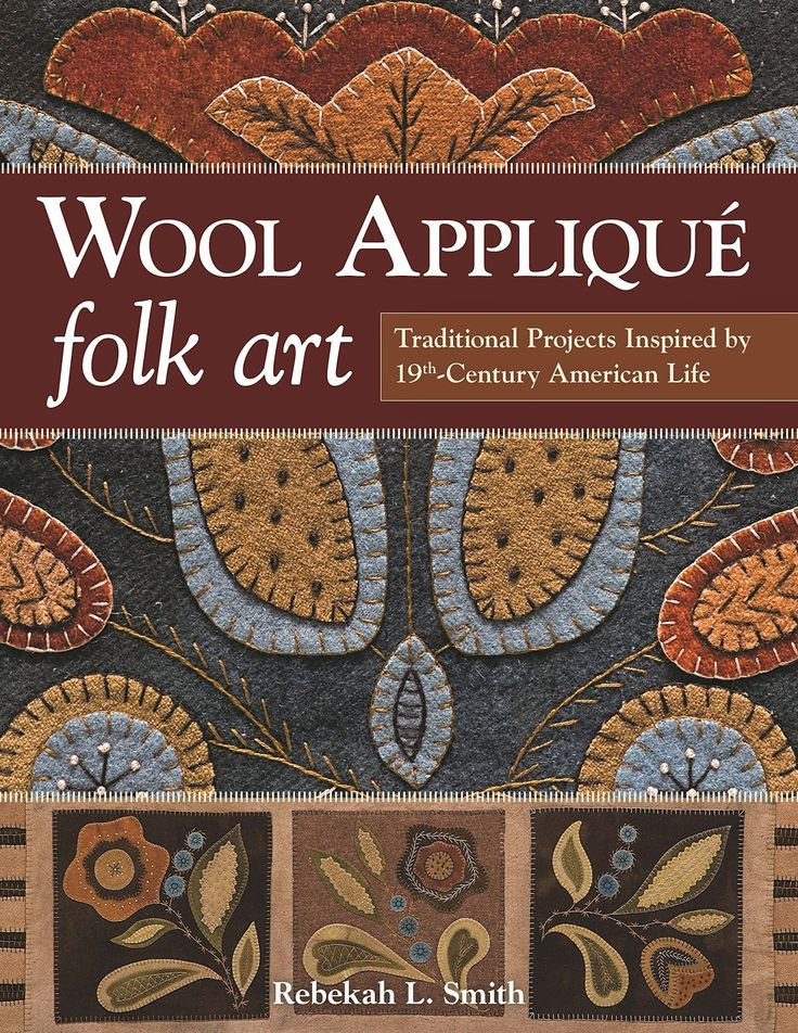 """The Spotted Hare: """"Wool Applique Folk Art"""" ~ A blog tour Day 4"""
