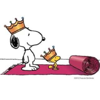 king's day - snoopy & woodstock