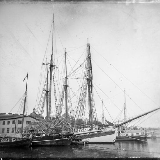 Vintage Tall Ship Stockholm