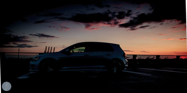 Sun Down  Preview from the Shoot at the 26.06.14 from the new Golf R