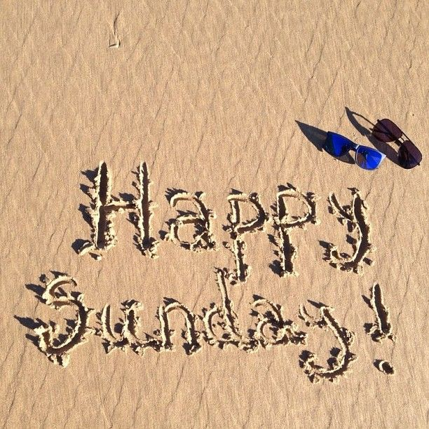 ¡Feliz domingo!