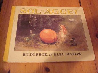 Elsa Beskow: Sol-Ägget 1972 | Harris Antik och Retro