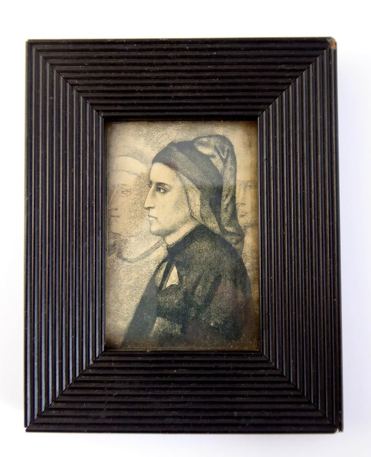 Antique Ebonized Framed Print Hamptons Art Saloon Aberden - The Collectors Bag