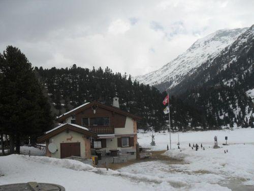 Val Roseg in Engadina