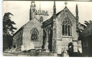 Unknown Postcard, St Osmond's Church, Evershot, Dorset (Photographic)