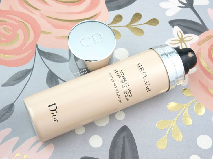 Dior Diorskin Airflash Spray Foundation: Review and Swatches