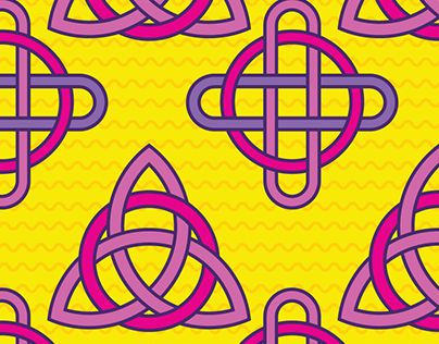 """Check out new work on my @Behance portfolio: """"Celtic Knot Pattern Design"""" http://be.net/gallery/63843735/Celtic-Knot-Pattern-Design"""