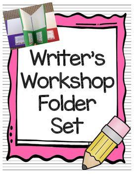 Writer's Workshop Folder Set!